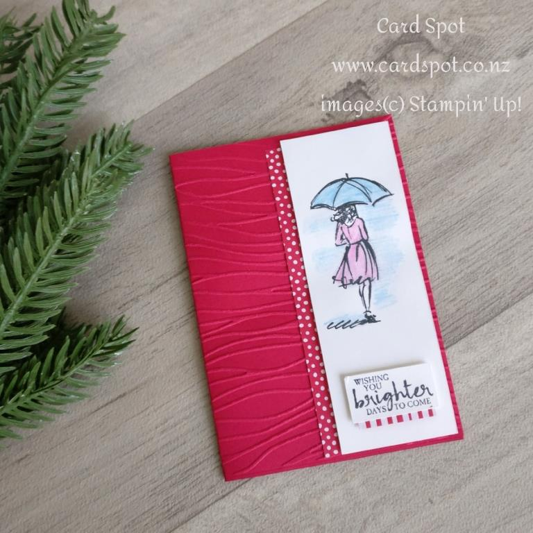 July Card making Class Projects - Beautiful You Get Well Card